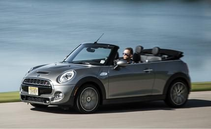 The 2016 Mini Cooper S Convertible may not be perfect, but it's hard to frown about a manual transmission and a convertible top. Read more and see photos at Car and Driver.