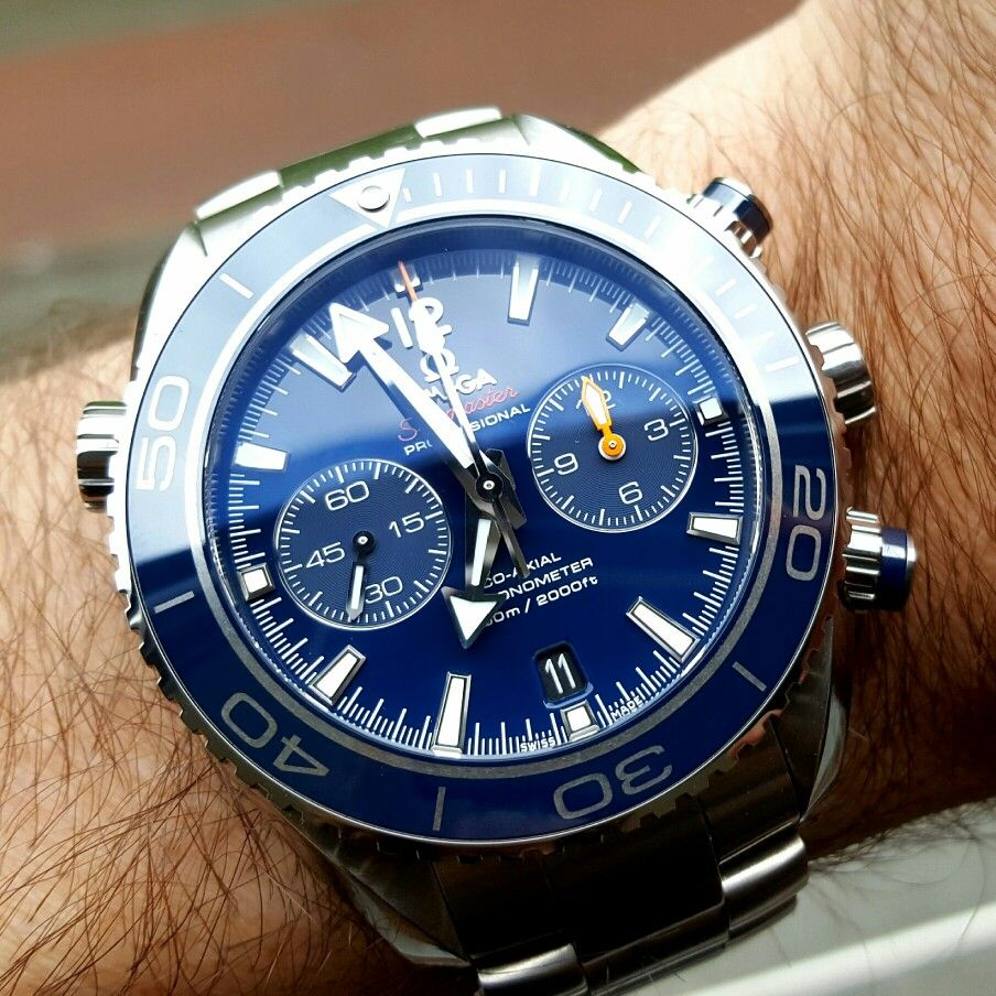 508d4472d736 Omega Seamaster Planet Ocean Titanium Chronograph