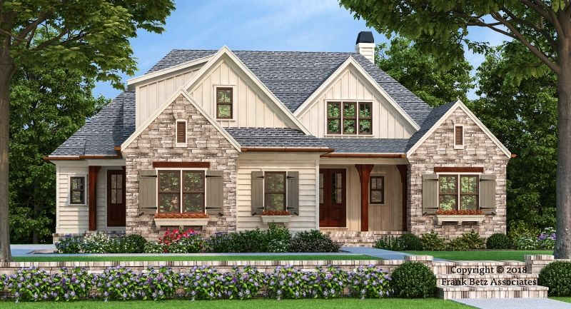Blantons Trace House Plan Never Too Much Of A Good Thing This New Design Takes A Time Country Style House Plans Craftsman Style House Plans Craftsman House