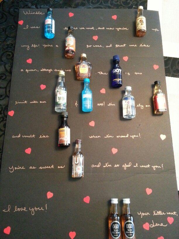 Since my boyfriendu0027s not into sweets, I made him a  - love letter to boyfriend