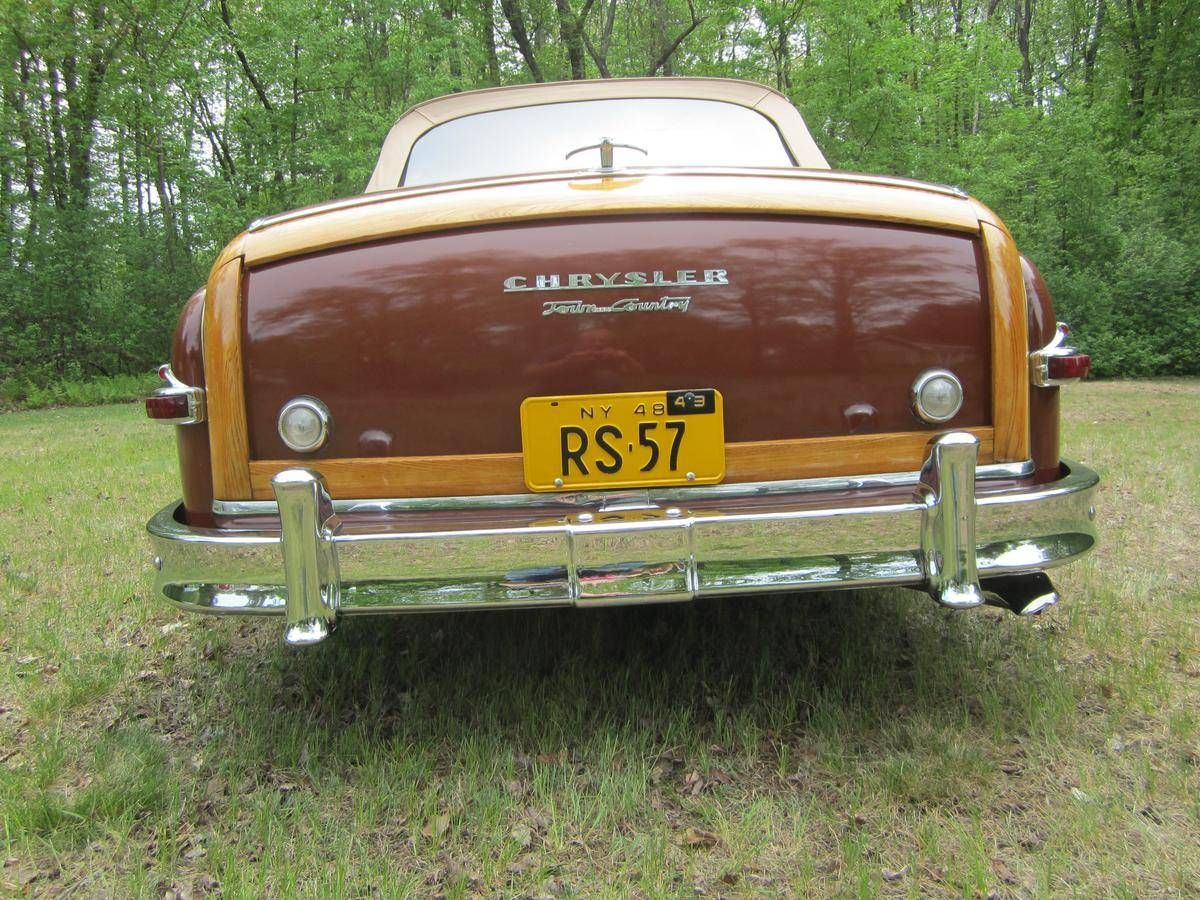 1949 Chrysler Town Country Convertible