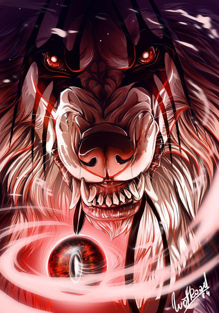 Good Night by WolfRoad рисунок Pinterest Wolf