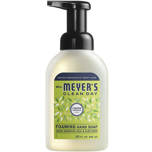 Lemon Verbena Foaming Hand Soap In 2020 Foaming Hand Soap Lemon Verbena Verbena