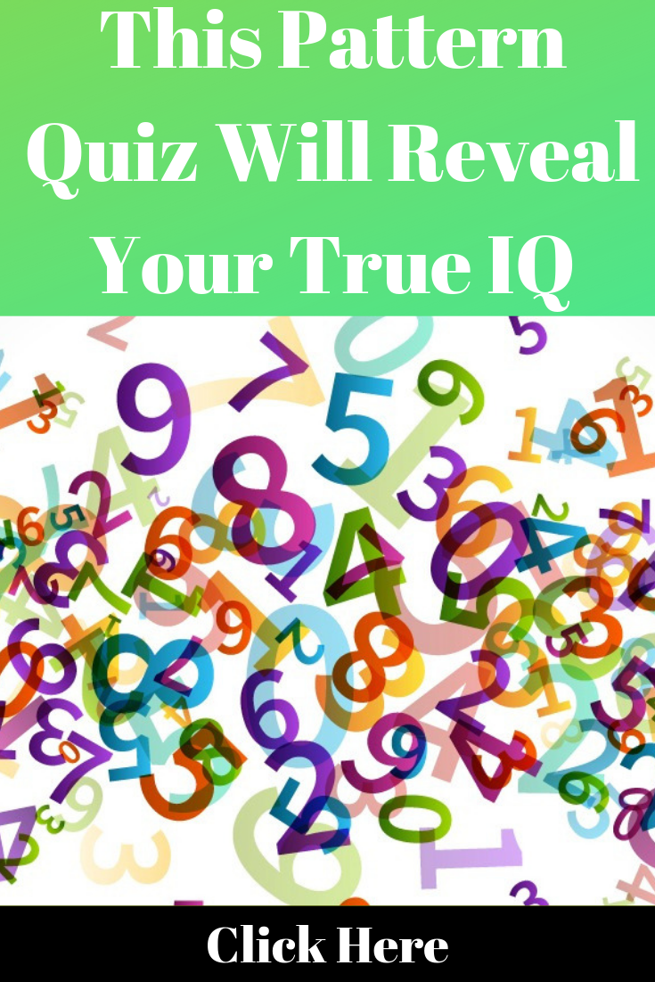 This Pattern Quiz Will Reveal Your True Iq With Images Quiz