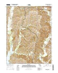 Bevier South Mo Topo Map 1 24000 Scale 7 5 X 7 5 Minute Current