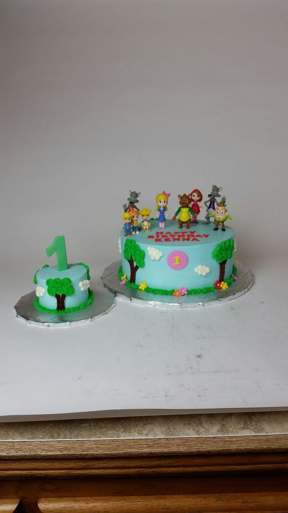 Goldie And Bear Cake Diy Cake Cake Bear Cakes