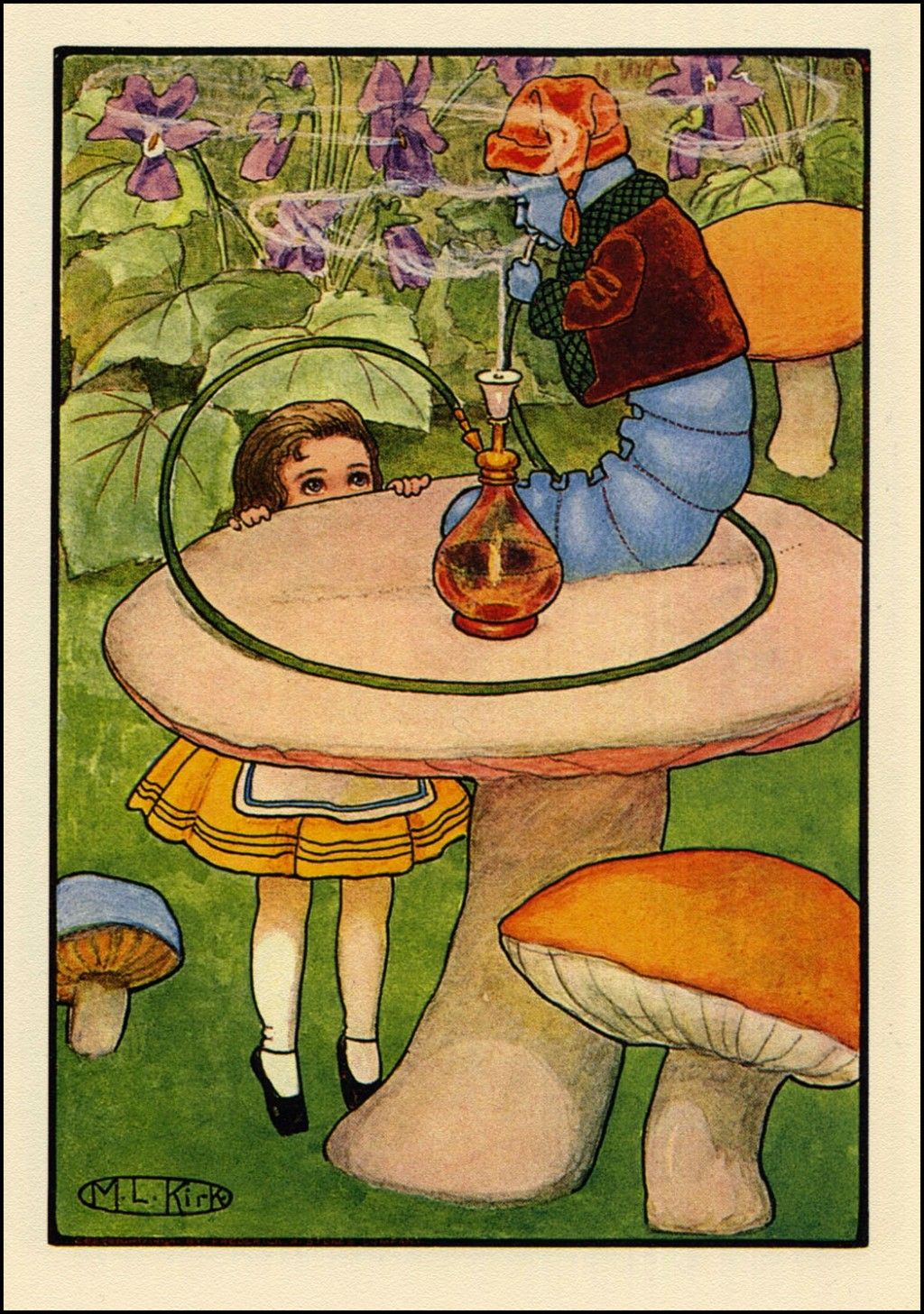 Maria Kirk. Alice in Wonderland Art