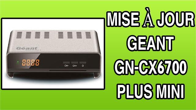 اخر تحديث لجهاز Mise A Jour Geant Gn Cx6700 Plus Mini Hd Bose Speaker Mini Speaker Mini