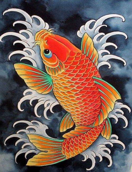 Pin De Steven White Em Koi Fish Carpa Koi Tattoo Carpa