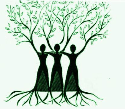 3 sisters...strong roots....