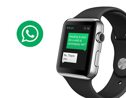 Whatsapp Messenger Apple Watch Concept Apple Watch Apple Watches