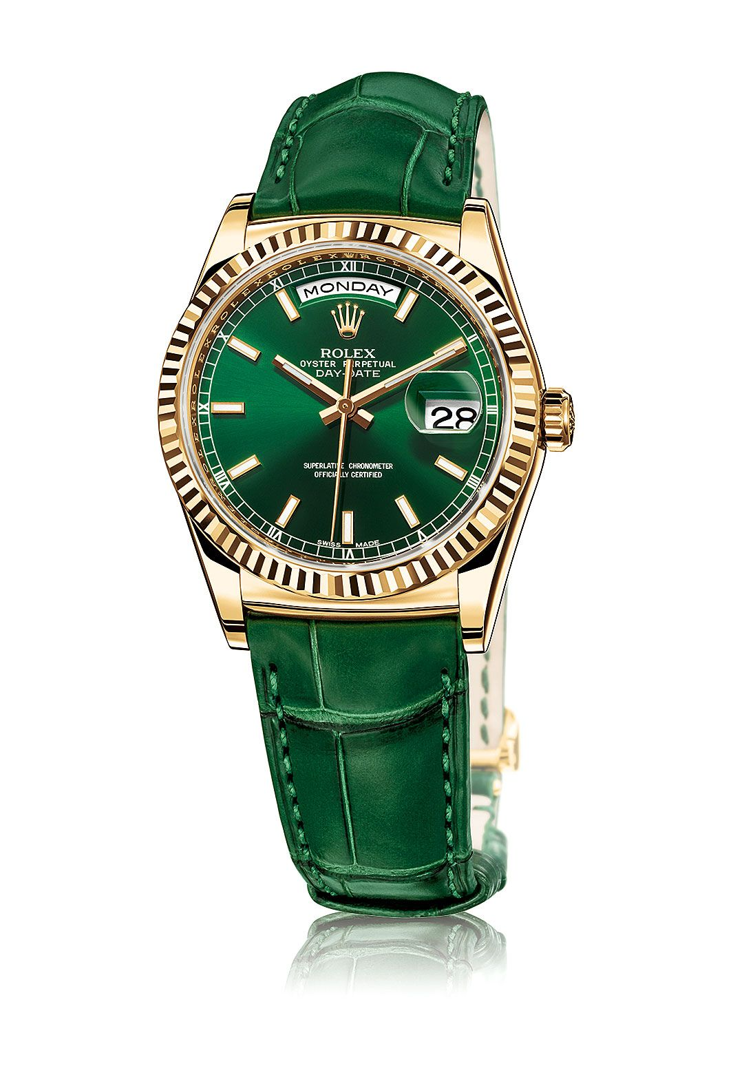 The Return Of The Stella Dial - Rolex Day-Date 18K Yellow Gold 36MM Sport 3d5ecd0088