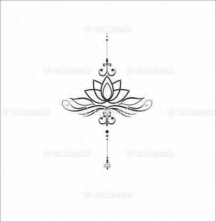 Pingl par siphe sur tattoo ideas pinterest tatouages id e tatouage et tatoo - Mandala fleur de lotus ...