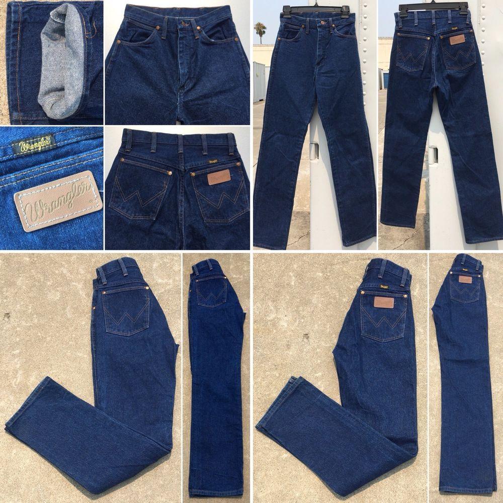 "Wrangler High Waist Jeans 13MWzG 5 x 32 Measure 26 1/2"" X"
