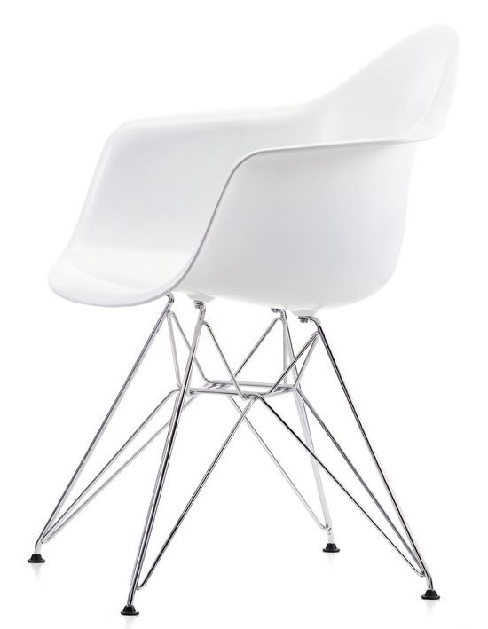 Eames Plastic Arm Chair DAR   By Charles And Ray Eames   Vitra