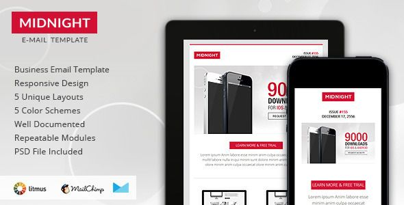27 best Beautiful Email Template Themes images on Pinterest - responsive email template