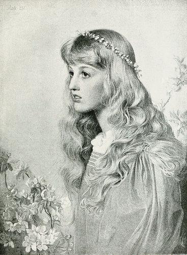 "Anthony Frederick Augustus Sandys (1829-1904), Portrait Study ""Adele"" | Flickr - Photo Sharing!"