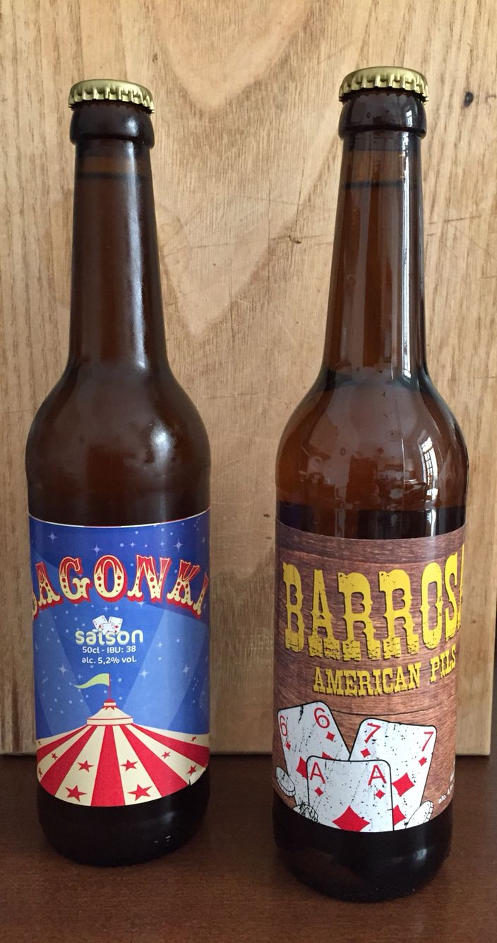 Birra Scialandrone Barrosa > American pils Bagonki > Saison  Birra sarda artigianale