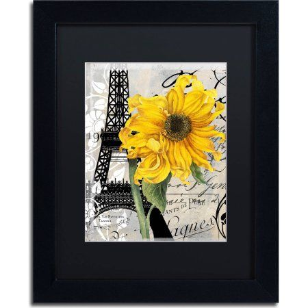 Trademark Fine Art Paris Blanc Canvas Art by Color Bakery, Black ...