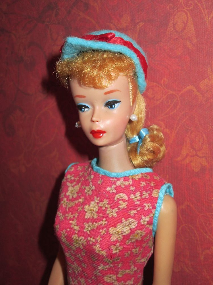 Lovely # 5 Vintage Ponytail Barbie Blonde + Japanese Exclusive Outdoor Art Show