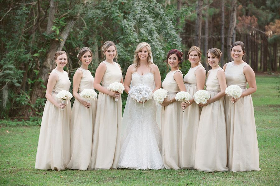 Rustic Glam Gold Pink Outdoor Wedding In The Woods Mmtb