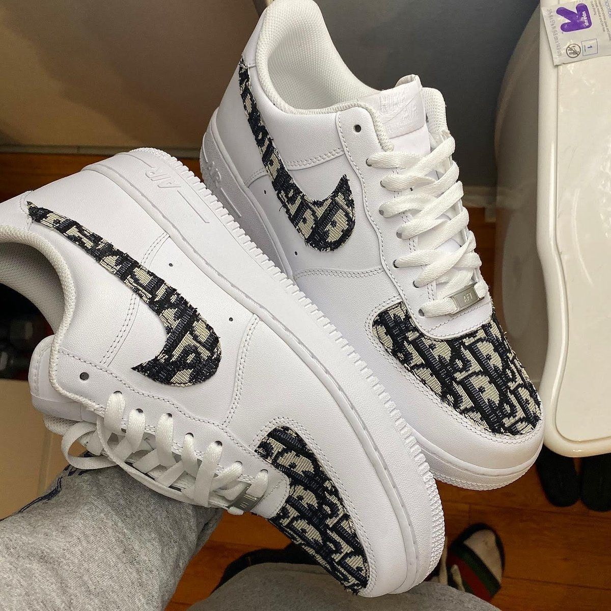 air force 1 dior homme
