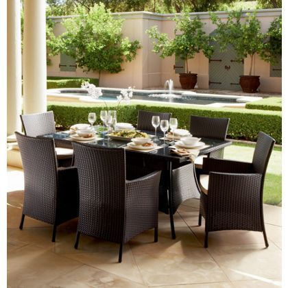 Panama 6 Seater Garden Furniture Set at Homebase -- Be inspired and ...