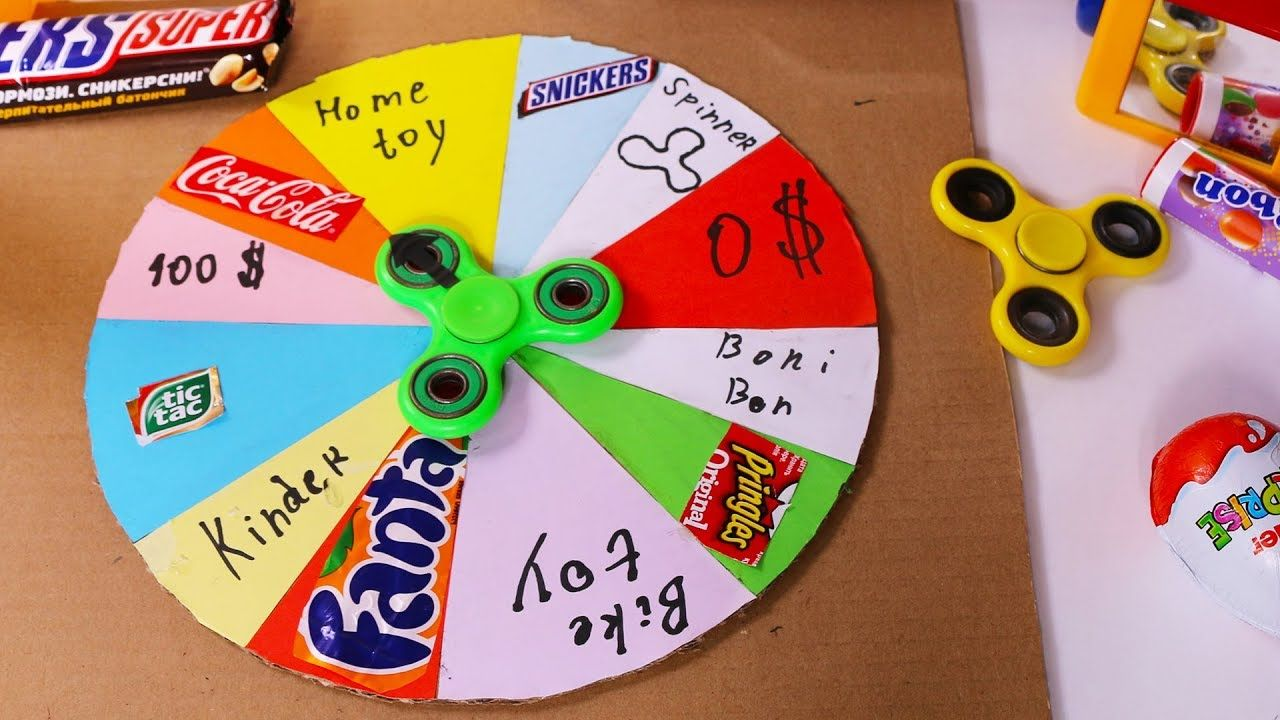 Spinny circle prizes for carnival games