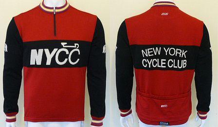 New York Cycle Club Merino Wool Jersey By Soigneur True