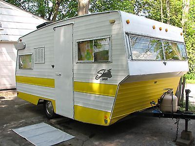 Loo The Loflyte Vintage Shasta Travel Trailer With Wings
