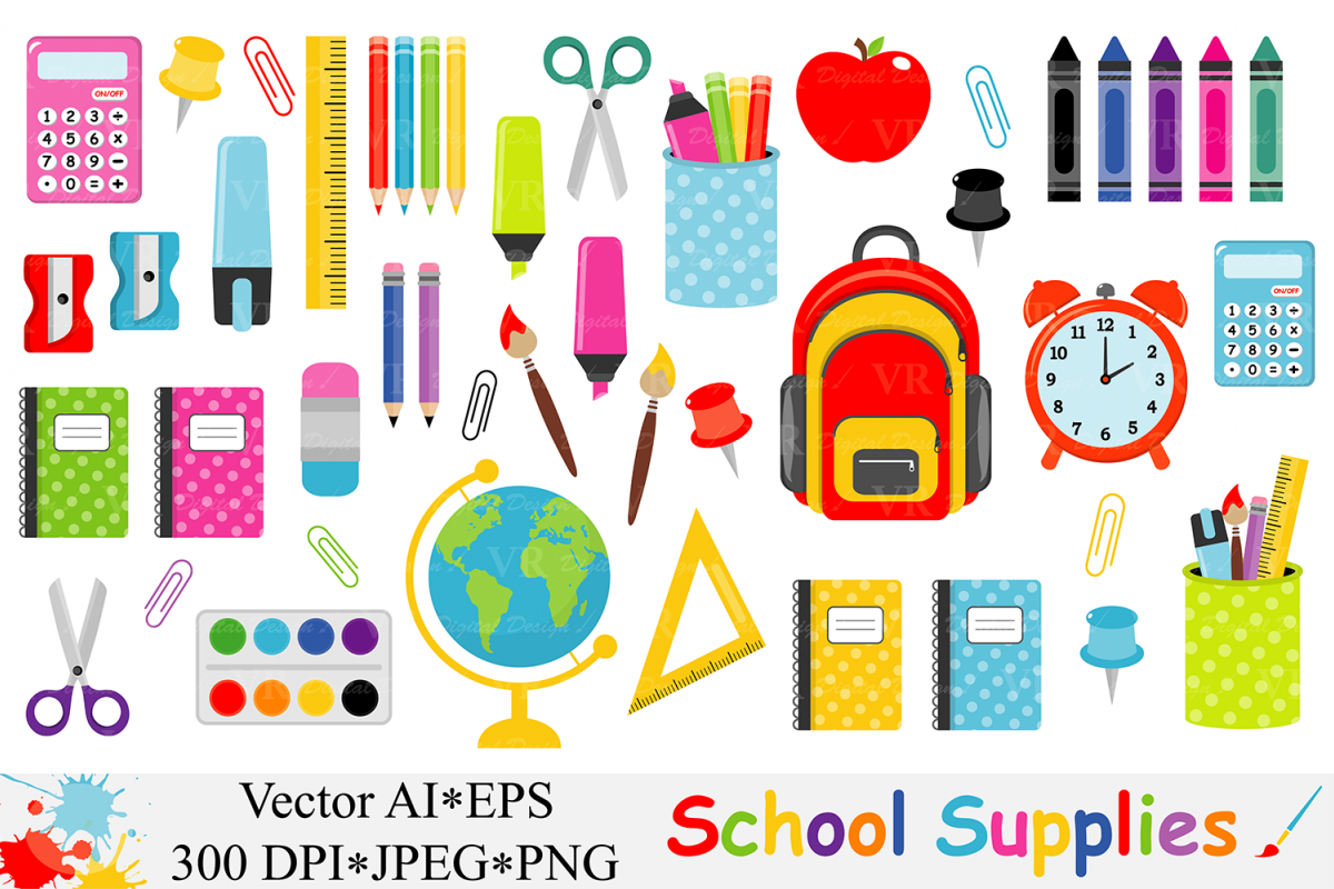 school bus clipart set school subjects clipart Back to School clipart COMMERCIAL and Personal use clipart maths clip art science pngs