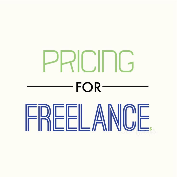 Pricing for writing services