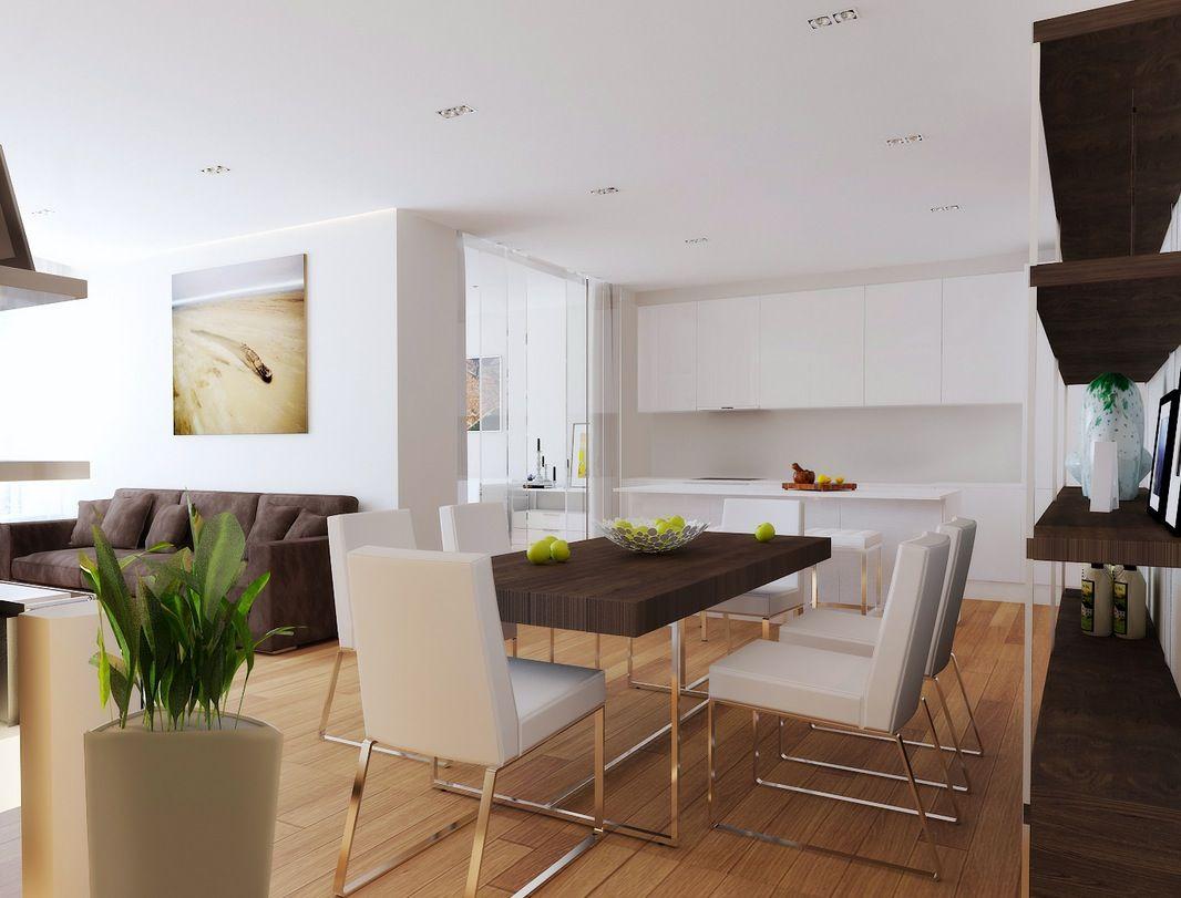 Offene Küche Und Wohnzimmer Designs | Küche | Pinterest | Diner ...