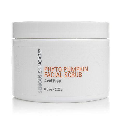 Serious Skincare Super Size Phyto Pumpkin Facial Scrub Hsn Facial Scrubs Pumpkin Facial Skin Care Moisturizer