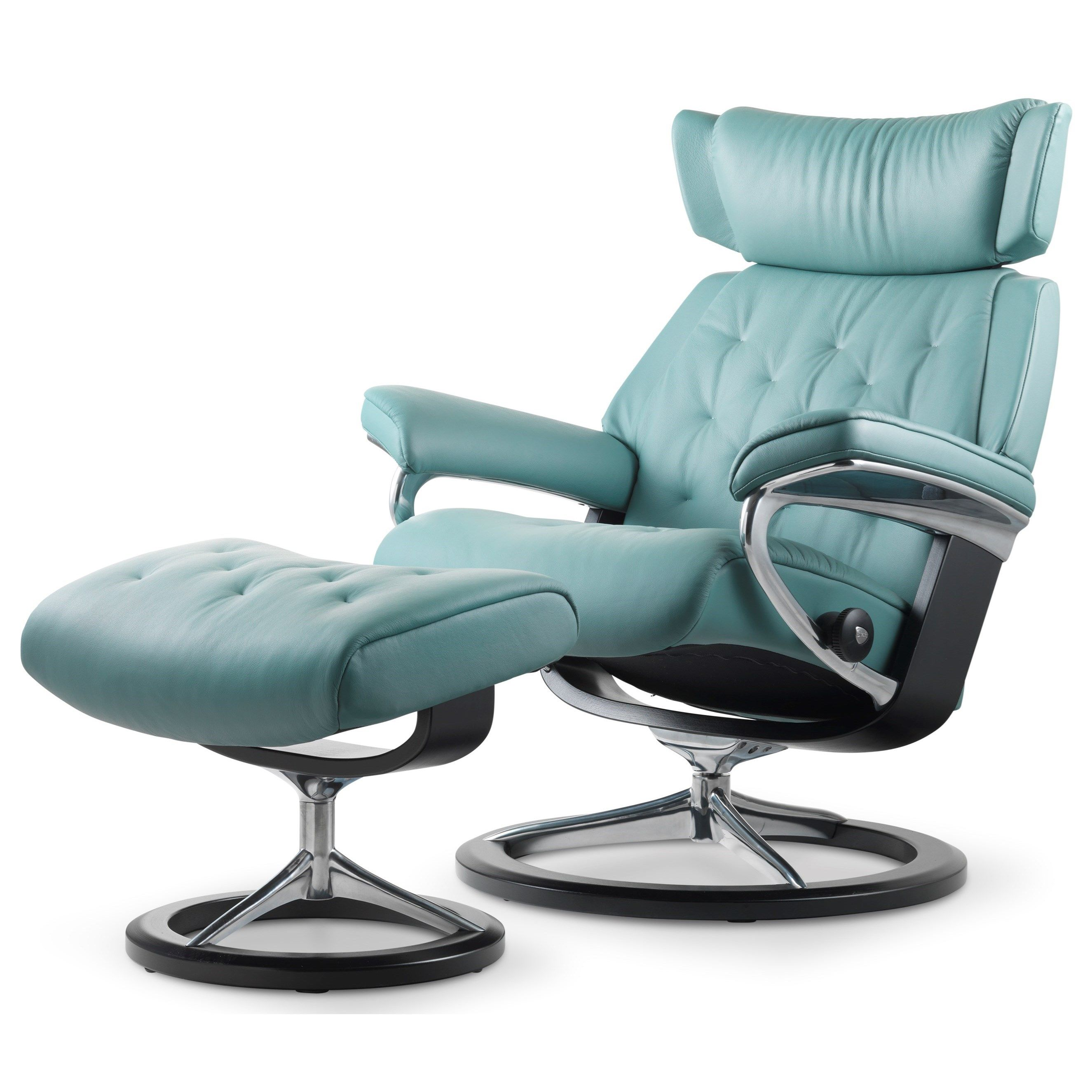 Stressless Skyline Small Signature Chair by Stressless by Ekornes  sc 1 st  Pinterest & Stressless Skyline Small Signature Chair by Stressless by Ekornes ... islam-shia.org