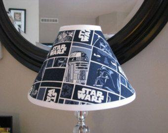 High Quality Lamp Shade Star Wars By Zacharydickorydock On Etsy