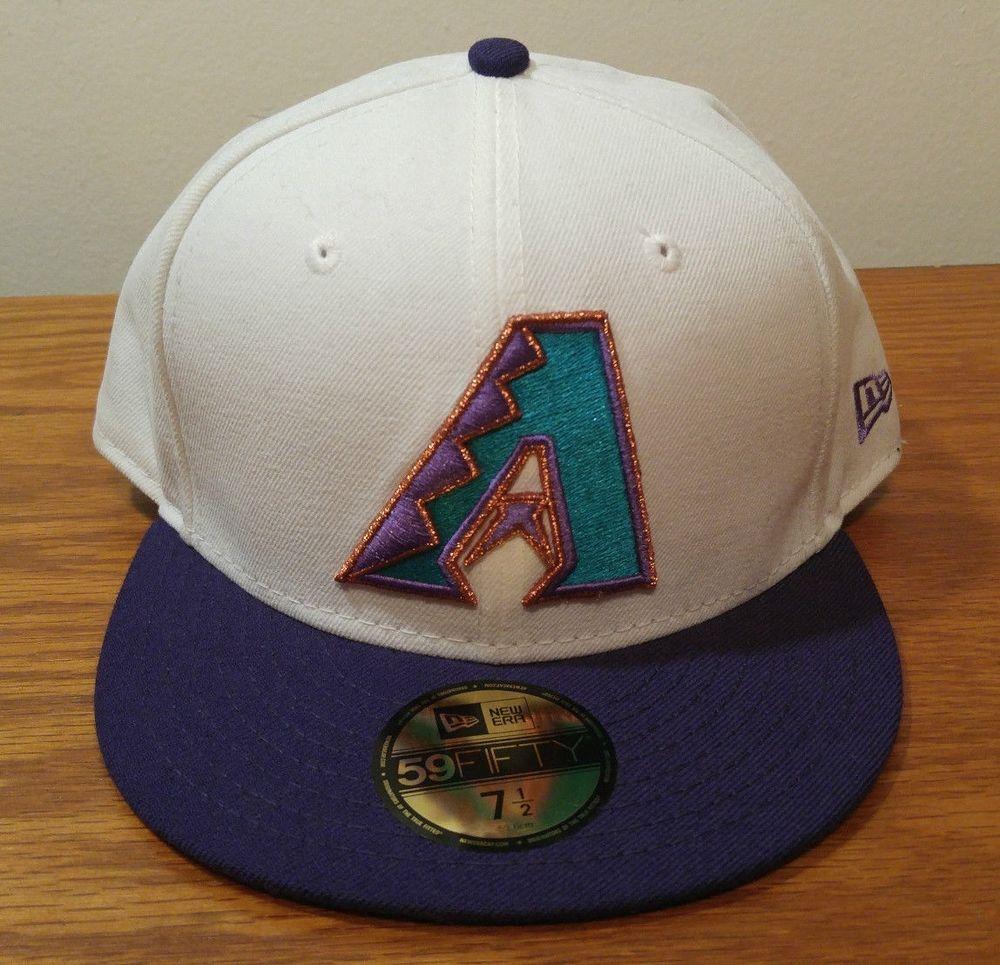 wholesale dealer 4bb1d 18ef5 New Era 59Fifty Arizona Diamondbacks Retro Baseball Hat Cap 7 1 2 Fitted  D-Backs  NewEra  ArizonaDiamondbacks
