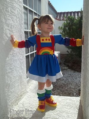 Rainbow Brite Costume! ( Homemade Costume ) @Becca Shockey - this reminded me of Leah for some reason!  sc 1 st  Pinterest & Rainbow Brite Costume! ( Homemade Costume ) @Becca Shockey - this ...