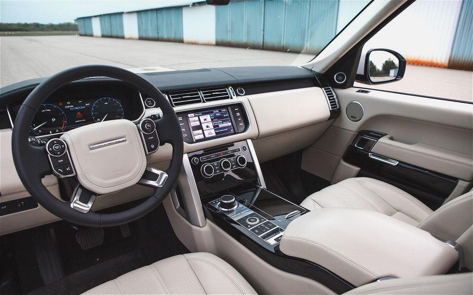 2017 Luxury Range Rover Sport Interior Range rover hse