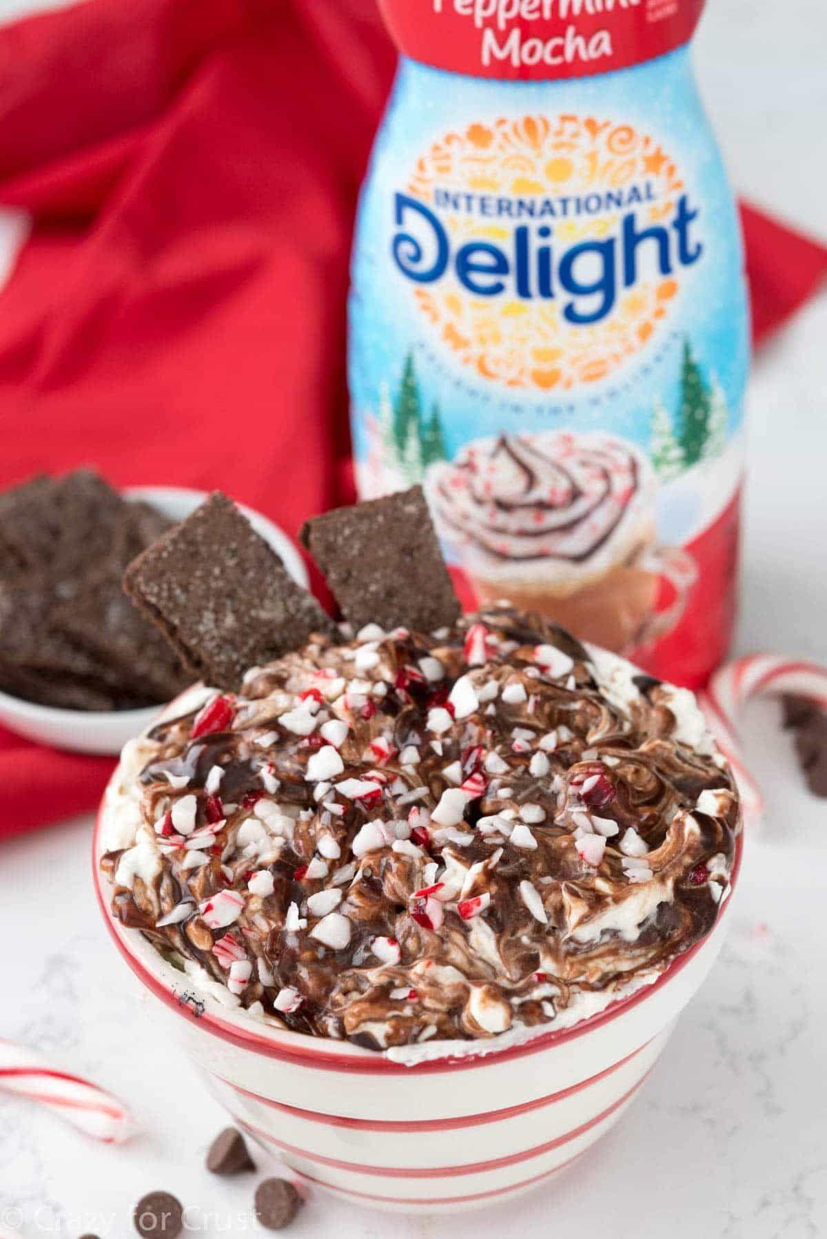 Peppermint Mocha Cheesecake Dip Recipe Mocha