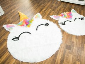 Diy Unicorn Rug Jojo S Room In 2018 Unicorn Unicorn Bedroom Diy