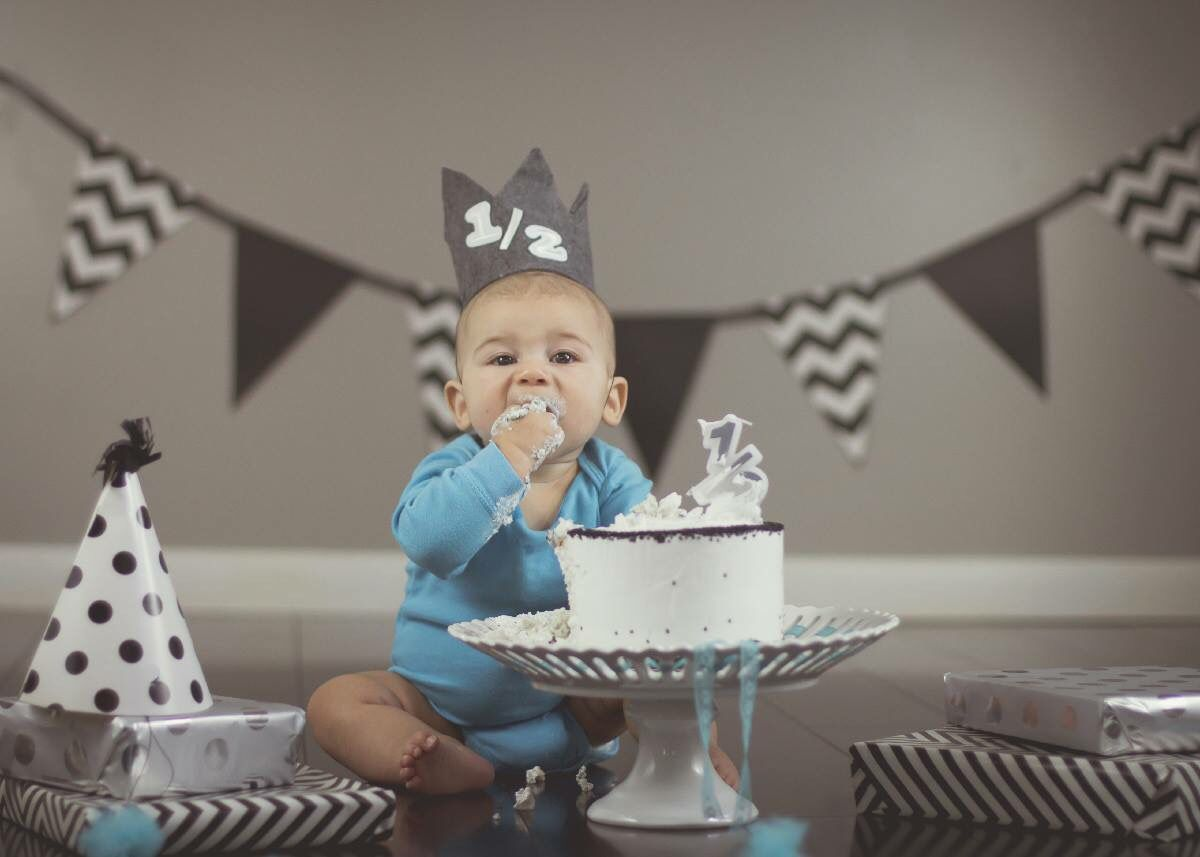 Baby Boy Half Birthday Half Birthday Baby Boy Birthday Pictures