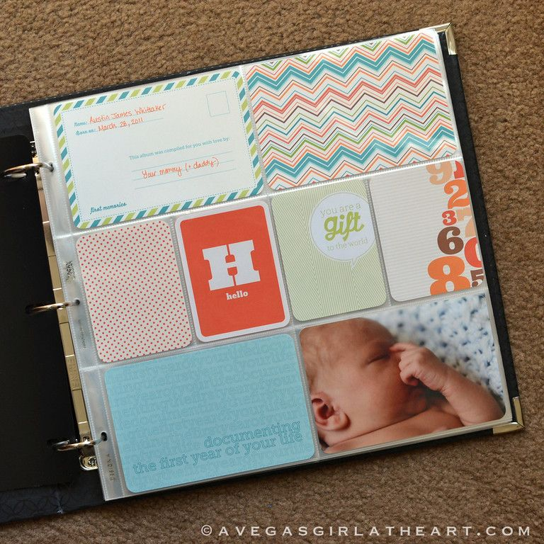 Baby Book Ideas: Best 25+ Project Life Baby Ideas On Pinterest