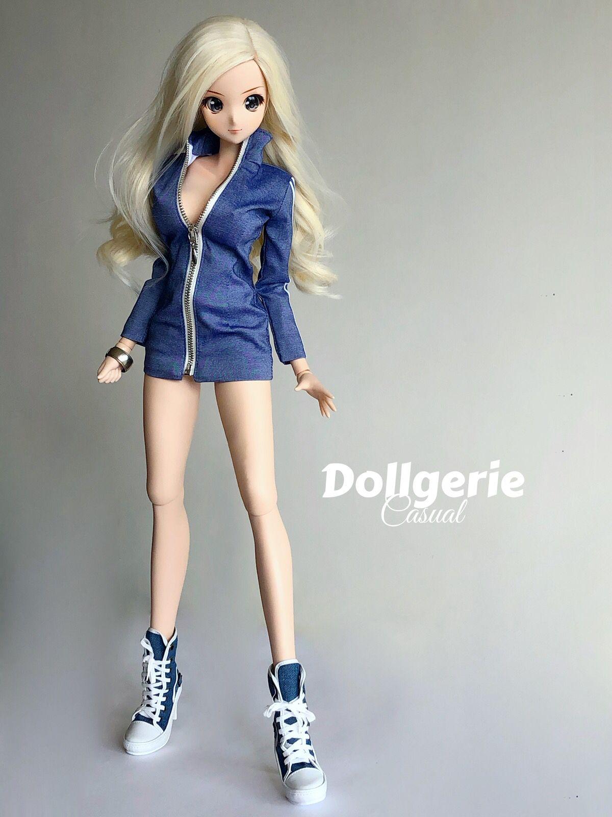 Blue Jean Shorts 1//3 BJD Clothes Smart Doll Dollfie DD DDdy