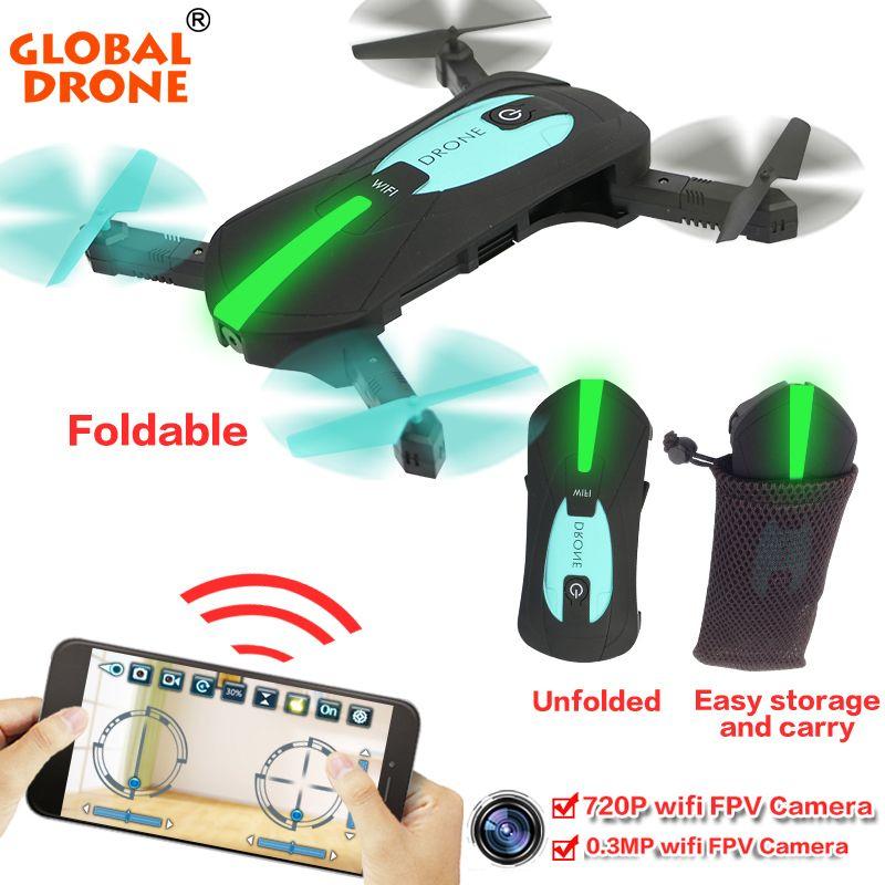 Mondiale Drone Gw018 Pliable Quadcopter Selfie Hélicoptère Mini Nano Dron Wifi Drones Peut Transporter Avec Drone With Hd Camera Cheap Drones With Camera Drone