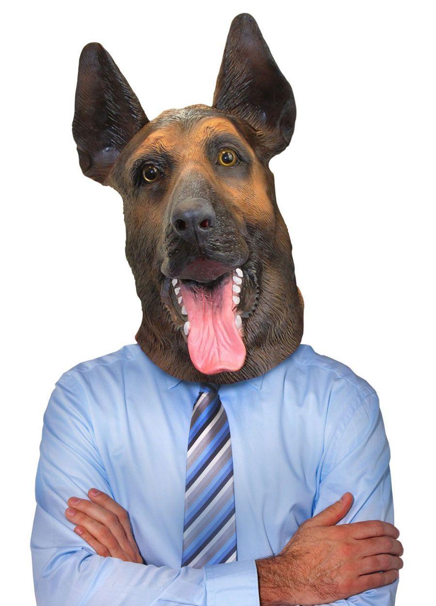 Creepy Dog Masks Dog mask, German shepherd dogs, German