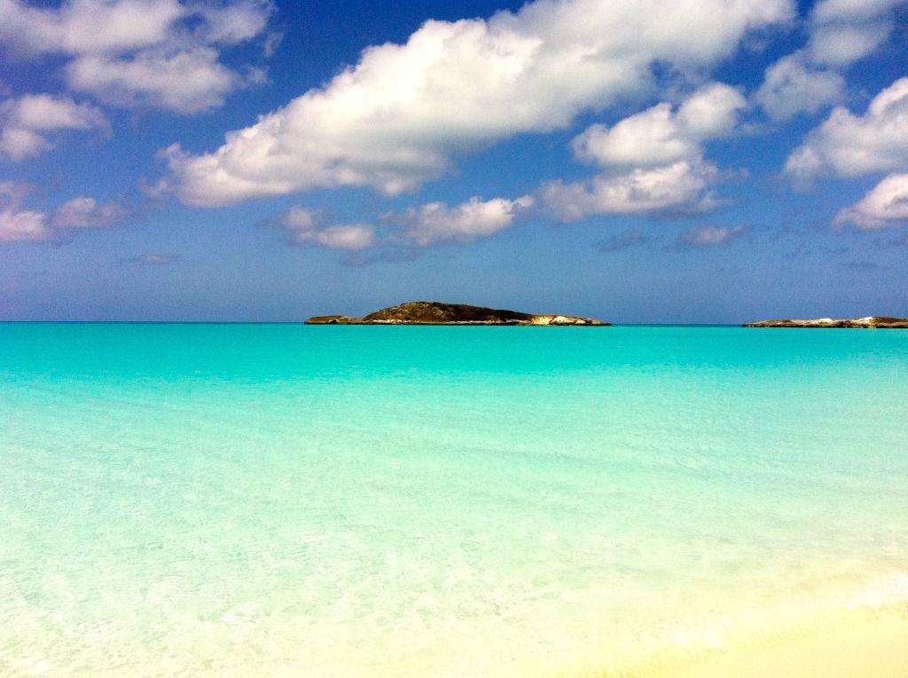 Tropic Of Cancer Beach Little Exuma Bahamas Caribbean