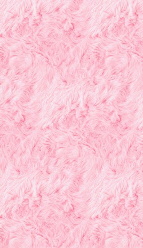 Pink fur iPhone wallpaper Lovely phone wallpapers