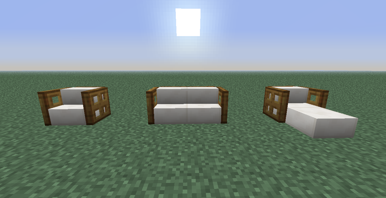 Quartz is a pretty good replacement for Wool stairs/slabs #minecraft #minecraftservers