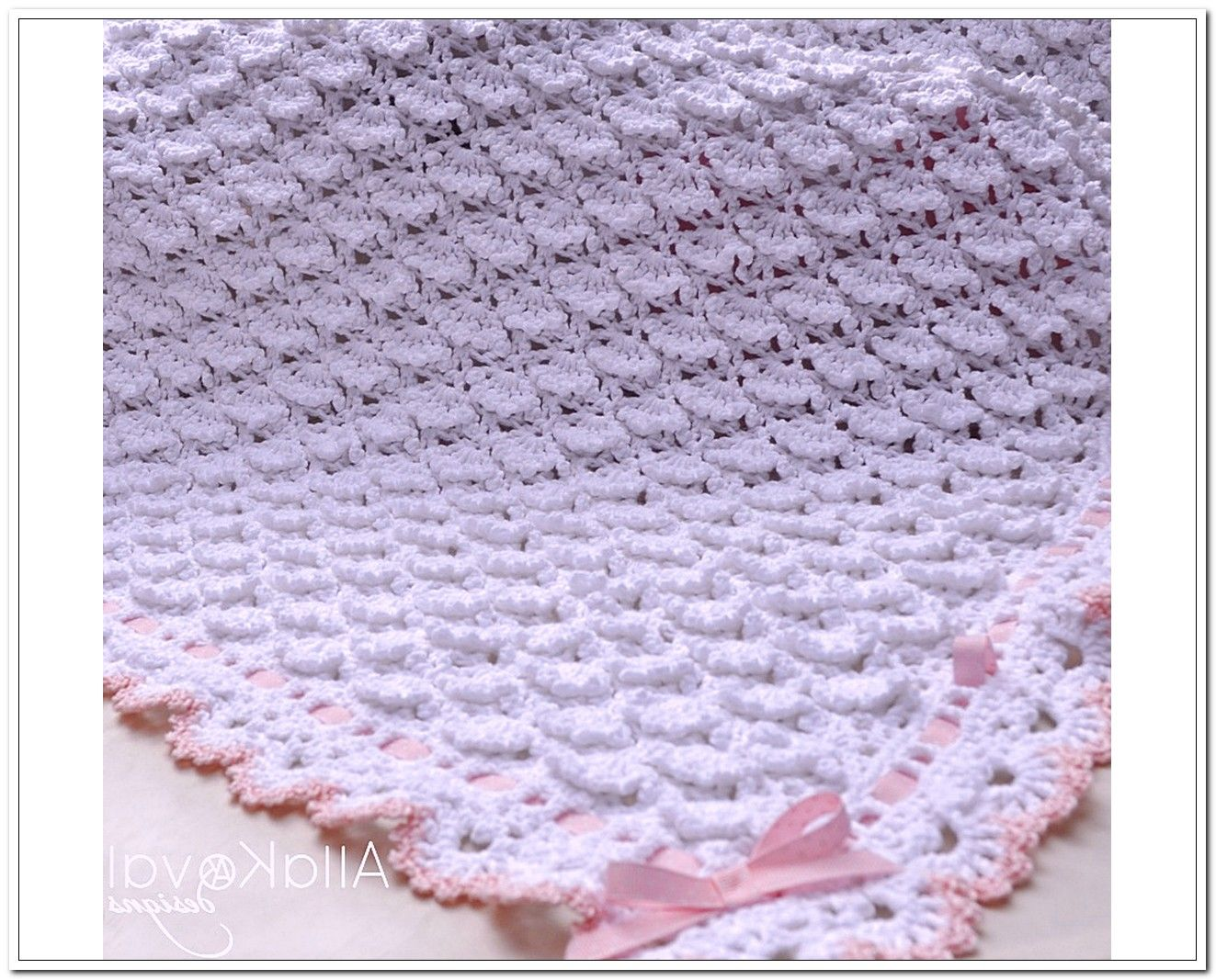 Crochet Pattern Central - Free Pattern - Bubbles Baby Blanket ...